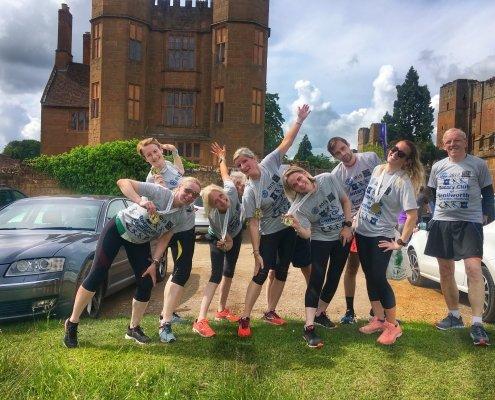2019 Two Castles - K&D Team After Race