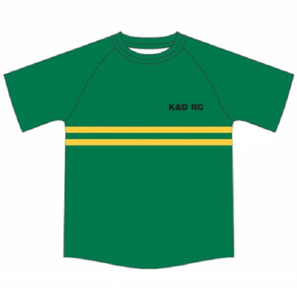 K&D Club T Shirt Front